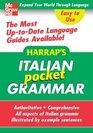 Harrap's Pocket Italian Grammar