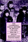 The Cambridge Social History of Britain, 17501950
