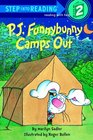 PJ Funnybunny Camps Out