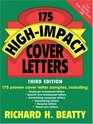 175 HighImpact Cover Letters 3rd Edition