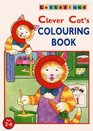 Clever Cat's Colouring Book