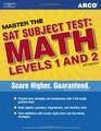 Master SAT Subject Test  Math Levels 1 and 2 4th edition