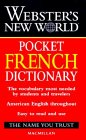 Dic Webster's New World Pocket French Dictionary