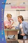 Dateline Matrimony (Hot off the Press, Bk 3) (Silhouette Special Edition, No 1424)