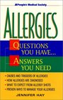 Allergies Questions You HaveAnswers You Need
