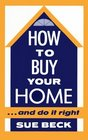 How to Buy Your Home...and Do It Right
