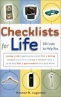 Checklists for Life: 104 Lists to Help You