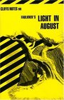 Cliffs Notes Faulkner's Light in August