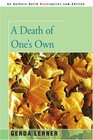 A Death of One's Own