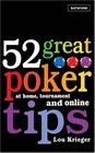 52 Great Poker Tips At Home Tournament and Online