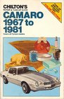 Camaro 1967-81 (Chilton's Repair Manual (Model Specific))