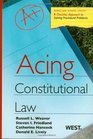 Acing Constitutional Law
