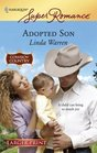 Adopted Son (McCain Brothers, Bk 5) (Cowboy Country) (Harlequin Superromance, No 1440) (Larger Print)