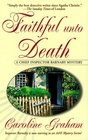 Faithful Unto Death (Chief Inspector Barnaby, Bk 5)