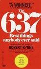 637 Best Things Anybody Ever Said