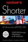 Harrap's shorter dictionnaire Anglais et francais