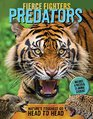 Fierce Fighters Predators Nature's Toughest Go Head to Head--Includes a Poster  20 Animal Stickers