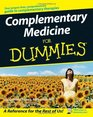 Complementary Medicine For Dummies