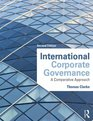 International Corporate Governance A Comparative Approach