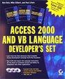 Access 2000 and VB Language