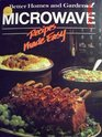 Microwave Recipes Made Easy (Better Homes and Gardens)