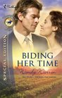 Biding Her Time (Thoroughbred Legacy, Bk 2) (Silhouette Special Edition)