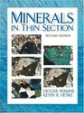 Minerals in Thin Section Second Edition
