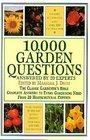 10000 Garden Questions Answered