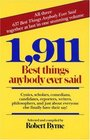 1,911 Best Things Anybody Ever Said
