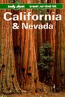 Lonely Planet California and Nevada