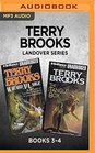 Terry Brooks Landover Series Books 3-4 Wizard at Large  The Tangle Box