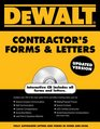 DEWALTContractor's Forms  Letters
