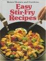 Better Homes and Gardens Easy Stir-Fry Recipes