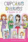 Cupcake Diaries 3 Books in 1 4 Mia's Boiling Point Emma Smile and Say Cupcake Alexis Gets Frosted