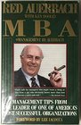 MBA Management by Auerbach  Management Tips from the Leader of One of America's Most Successful Organizations
