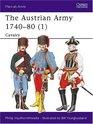 The Austrian Army 1740-80  Cavalry