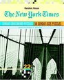 The New York Times Sunday Crossword Puzzles Volume 22
