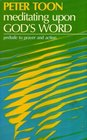 Meditating Upon God's Word