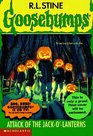 Attack of the Jack-o'-Lanterns (Goosebumps No. 48)