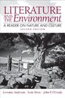 Literature and the Environment A Reader on Nature and Culture