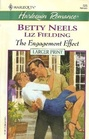 The Engagement Effect (Harlequin Romance, No 3689) (Larger Print)