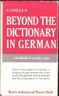 Cassell's Beyond the Dictionary in German