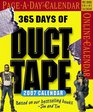365 Days of Duct Tape Page-A-Day Calendar 2007