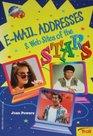 E-Mail Addresses & Web Sites of the Stars