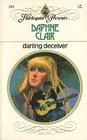 Darling Deceiver (Harlequin Presents, No 355)