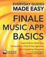 Finale Music App Basics Expert Advice Made Easy