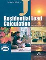 Residential Load Calculation Manual J Eighth Edition Version 250