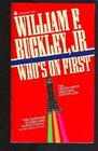 Who's on First (Blackford Oakes, Bk 3)