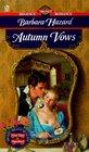 Autumn Vows (Signet Regency Romance)