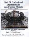 Civil PE Professional Engineer Exam Construction